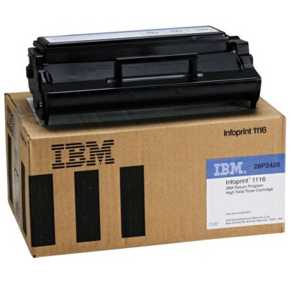 28P2420 Toner Cartridge - IBM Genuine OEM (Black)