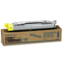 1710490-002 Toner Cartridge - Konica-Minolta Genuine OEM  (Yellow)