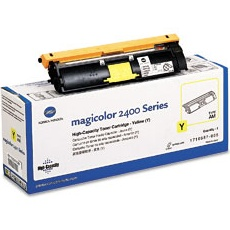 1710587-005 Toner Cartridge - Konica-Minolta Genuine OEM  (Yellow)
