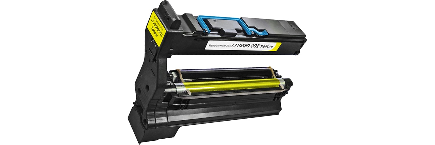1710580-002 Toner Cartridge - Konica-Minolta Remanufactured (Yellow)