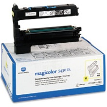 1710580-002 Toner Cartridge - Konica-Minolta Genuine OEM (Yellow)