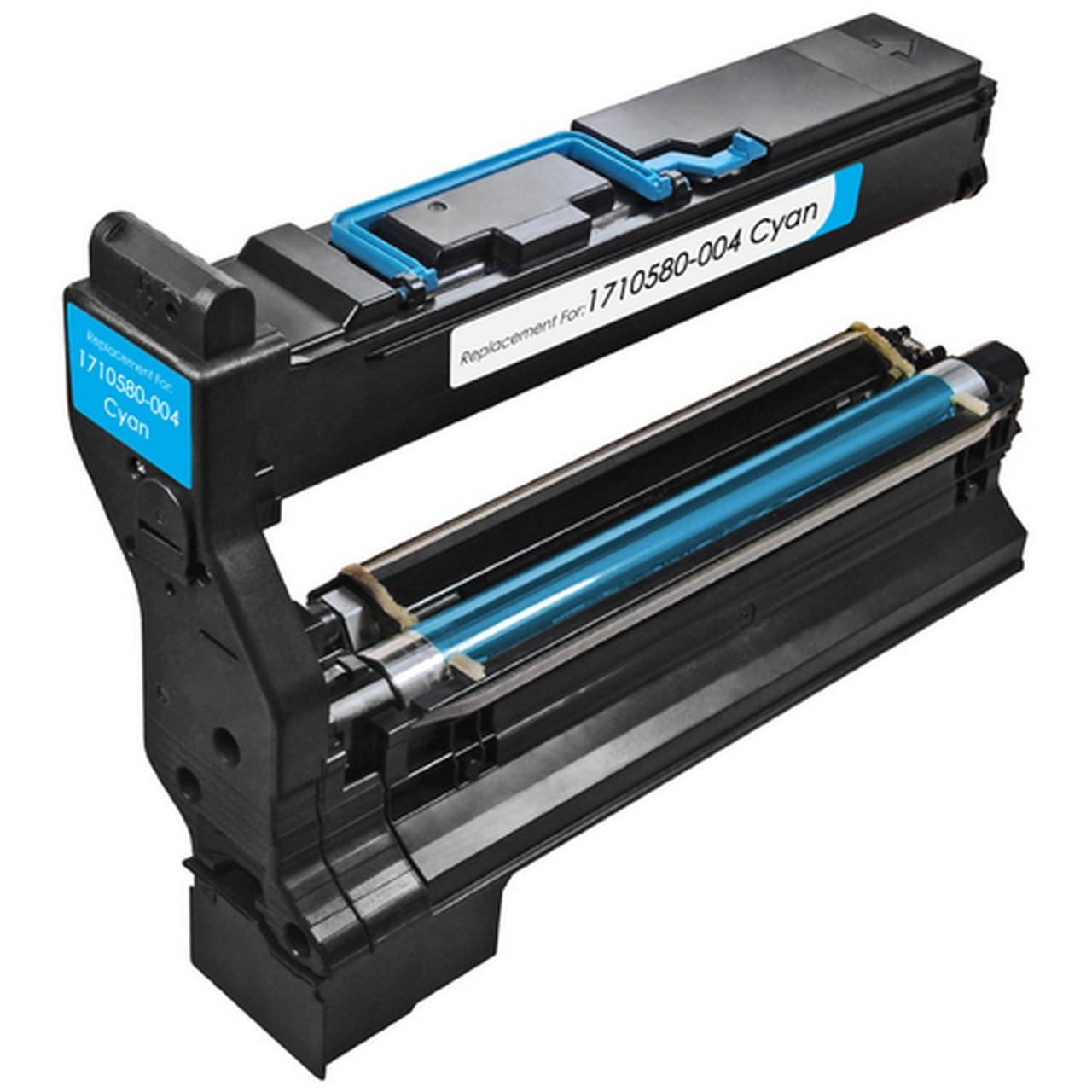 1710580-004 Toner Cartridge - Konica-Minolta Remanufactured (Cyan)
