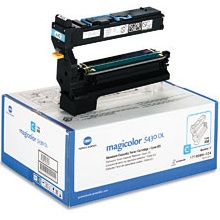 1710580-004 Toner Cartridge - Konica-Minolta Genuine OEM (Cyan)