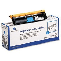 1710587-003 Toner Cartridge - Konica-Minolta Genuine OEM (Cyan)