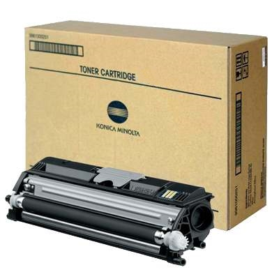 4563-302 Toner Cartridge - Konica-Minolta Genuine OEM (Black)