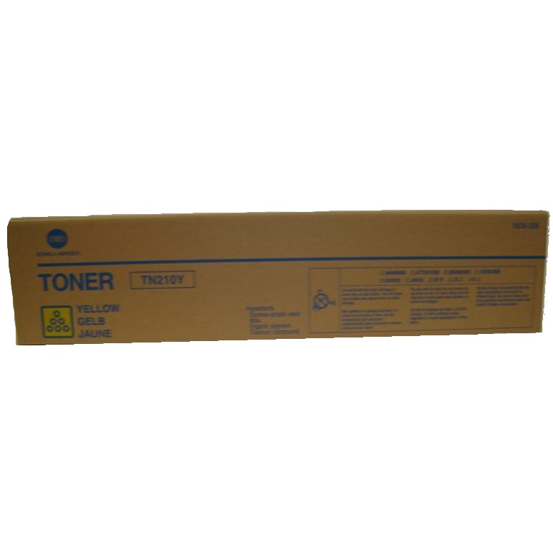 8938-506 Toner Cartridge - Konica-Minolta Genuine OEM (Yellow)