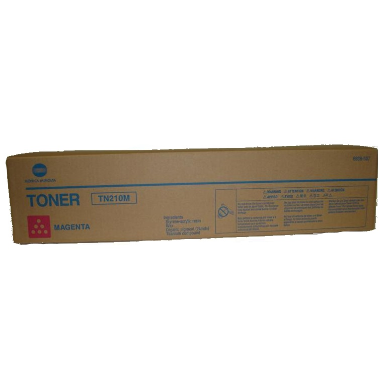 8938-507 Toner Cartridge - Konica-Minolta Genuine OEM (Magenta)