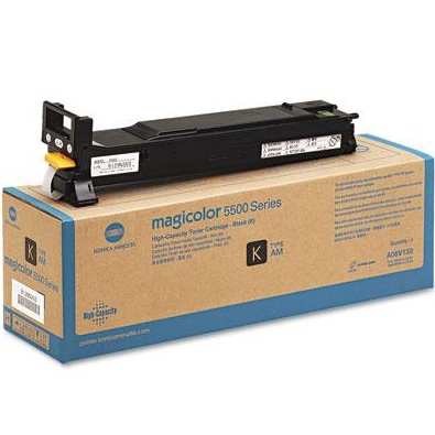 A06V133 Toner Cartridge - Konica-Minolta Genuine OEM (Black)