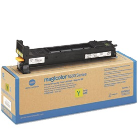 A06V232 Toner Cartridge - Konica-Minolta Genuine OEM (Yellow)