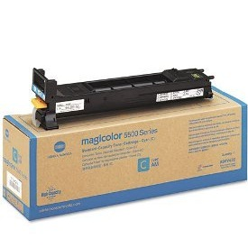 A06V432 Toner Cartridge - Konica-Minolta Genuine OEM (Cyan)
