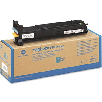 A06V433 Toner Cartridge - Konica-Minolta Genuine OEM (Cyan)