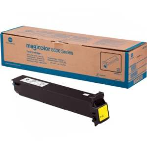 A0D7233 Toner Cartridge - Konica-Minolta Genuine OEM (Yellow)