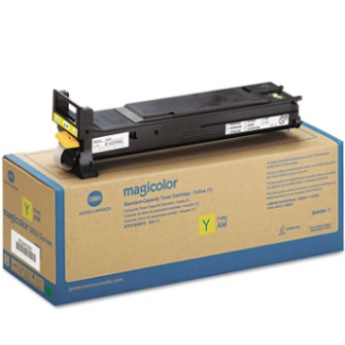 A0DK232 Toner Cartridge - Konica-Minolta Genuine OEM (Yellow)