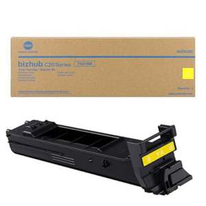 A0DK233 Toner Cartridge - Konica-Minolta Genuine OEM (Yellow)