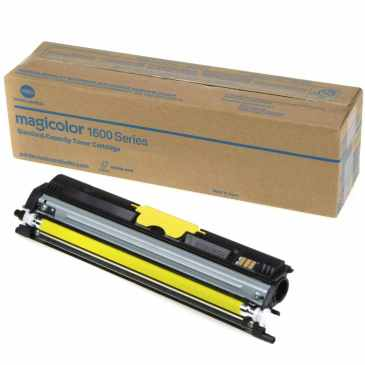 A0V305F Toner Cartridge - Konica-Minolta Genuine OEM (Yellow)