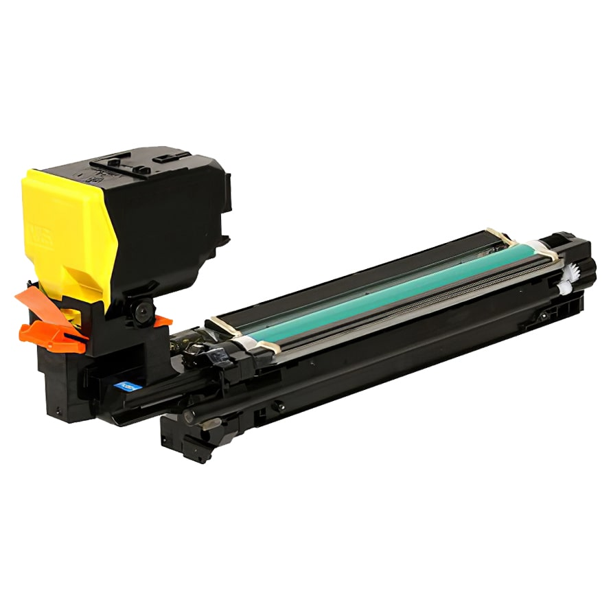 A0WG07F Toner Cartridge - Konica-Minolta Remanufactured (Yellow)