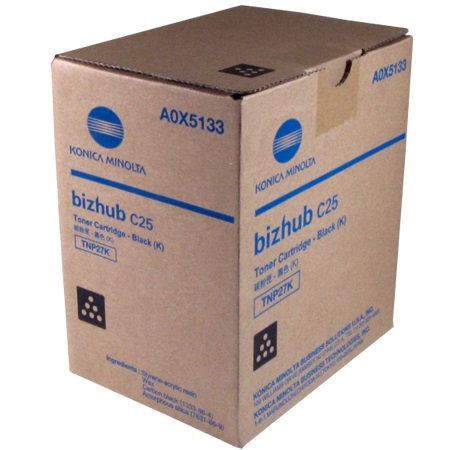 A0X5133 Toner Cartridge - Konica-Minolta Genuine OEM (BLACK)