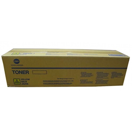 A1DY230 Toner Cartridge - Konica-Minolta Genuine OEM (Yellow)