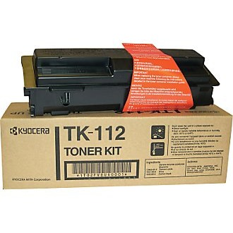 TK-112 Toner Cartridge - Kyocera Mita Genuine OEM (Black)