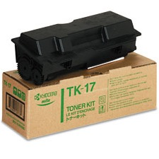 TK-17 Toner Cartridge - Kyocera Mita Genuine OEM (Black)