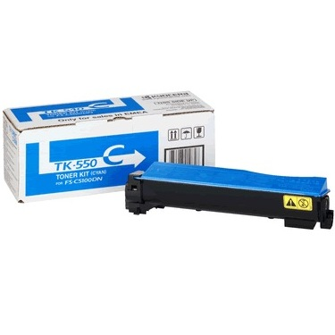 TK-552C Toner Cartridge - Kyocera Mita Genuine OEM (Cyan)