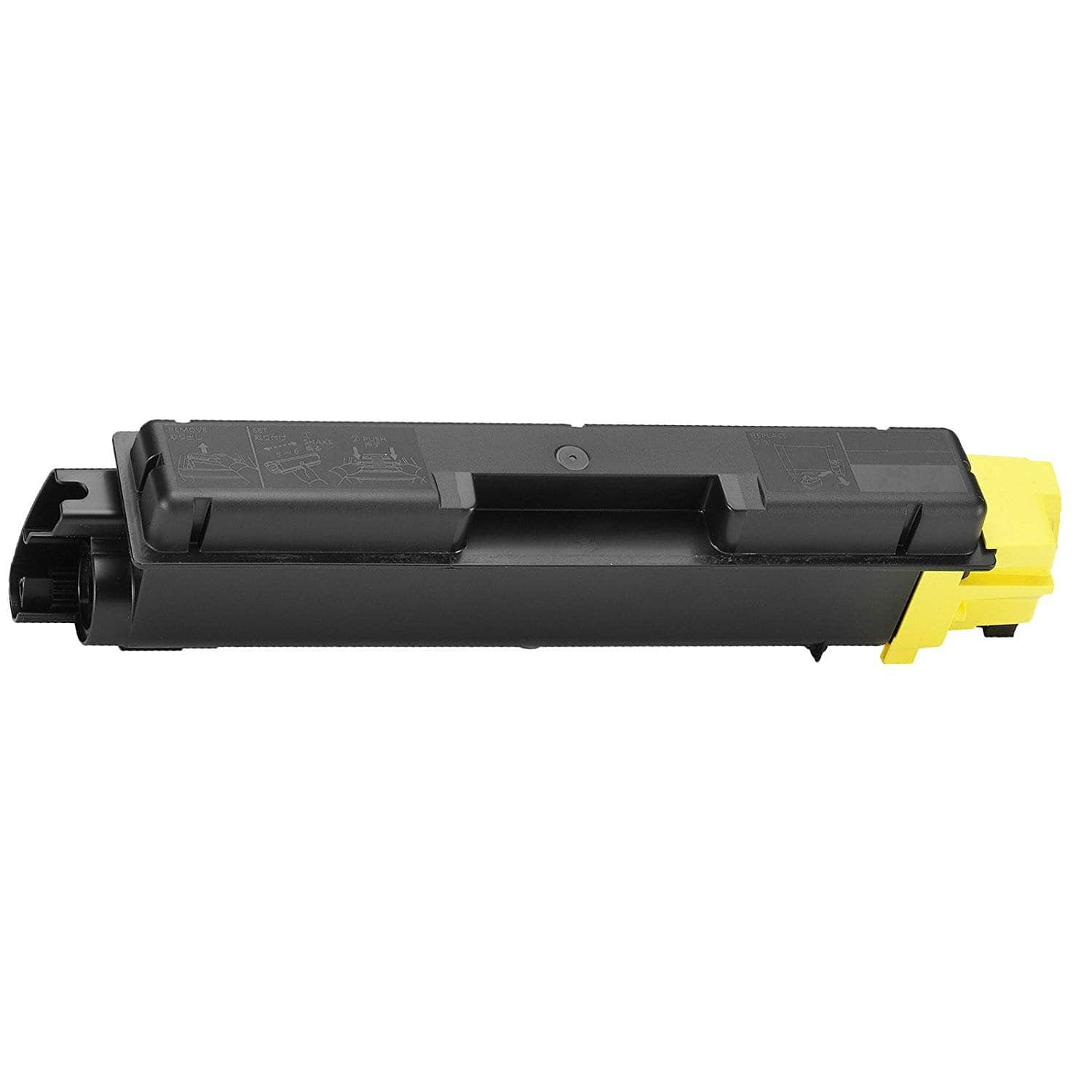 TK-592Y Toner Cartridge - Kyocera Mita Compatible (Yellow)