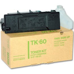 TK-60 Toner Cartridge - Kyocera Mita Genuine OEM (Black)