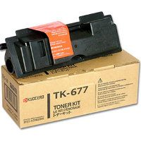TK-677 Toner Cartridge - Kyocera Mita Genuine OEM (Black)