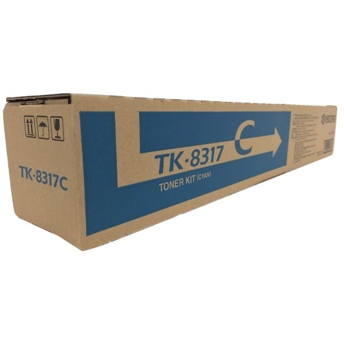 TK-8317C Toner Cartridge - Kyocera Mita Genuine OEM (Cyan)