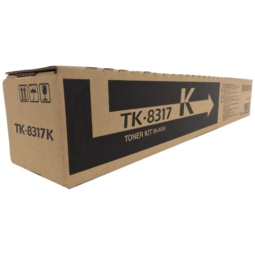 TK-8317K Toner Cartridge - Kyocera Mita Genuine OEM (Black)
