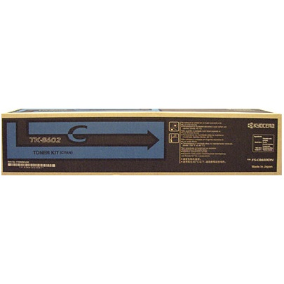 TK-8602C Toner Cartridge - Kyocera Mita Genuine OEM (Cyan)