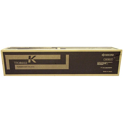 TK-8602K Toner Cartridge - Kyocera Mita Genuine OEM (Black)