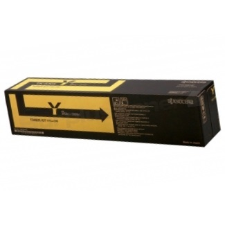TK-8707Y Toner Cartridge - Kyocera Mita Genuine OEM (Yellow)