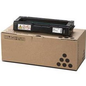 Lanier 406344 Toner Cartridge - Lanier Genuine OEM (Black)