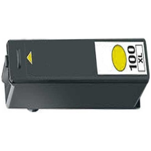 Lexmark #100XL Yellow Ink Cartridge - Lexmark New Compatible  (Yellow)