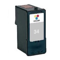 Lexmark #34 Ink Cartridge - Lexmark Remanufactured  (Black)
