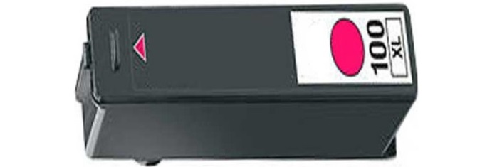 Lexmark #100XL Magenta Ink Cartridge - Lexmark Compatible (Magenta)
