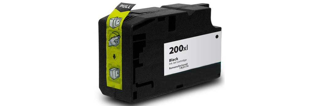 Lexmark #200XL Black Ink Cartridge - Lexmark Compatible (Black)