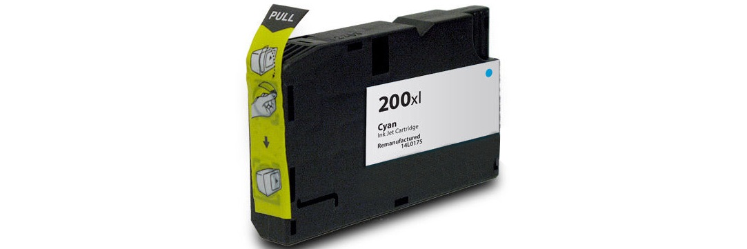 Lexmark #200XL Cyan Ink Cartridge - Lexmark Compatible (Cyan)