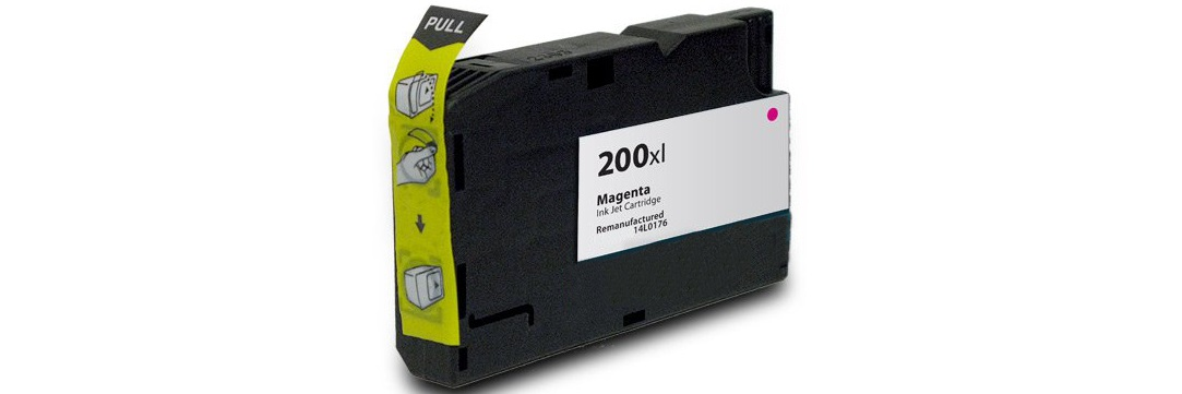 Lexmark #200XL Magenta Ink Cartridge - Lexmark Compatible (Magenta)