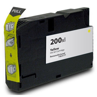 Lexmark #200XL Yellow Ink Cartridge - Lexmark Compatible (Yellow)
