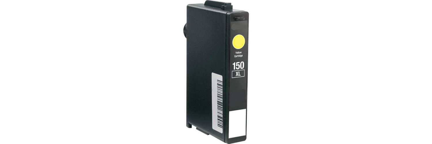 Lexmark #150XL Yellow Ink Cartridge - Lexmark Compatible (Yellow)