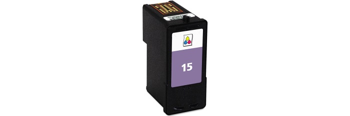 Lexmark #15 Ink Cartridge - Lexmark Remanufactured (Color)