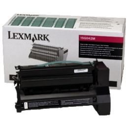 15G042M Toner Cartridge - Lexmark Genuine OEM (Magenta)