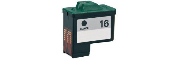 Lexmark #16 Ink Cartridge - Lexmark Remanufactured (Black)