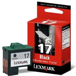 Lexmark #17 Ink Cartridge - Lexmark Genuine OEM (Black)