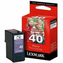 Lexmark #40 Ink Cartridge - Lexmark Genuine OEM (Photo Color)