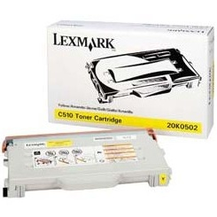 20K0502 Toner Cartridge - Lexmark Genuine OEM (Yellow)