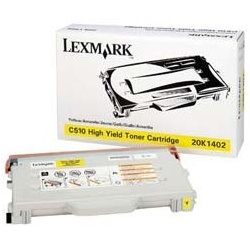 20K1402 Toner Cartridge - Lexmark Genuine OEM (Yellow)
