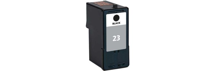 Lexmark #23 Ink Cartridge - Lexmark Remanufactured (Black)